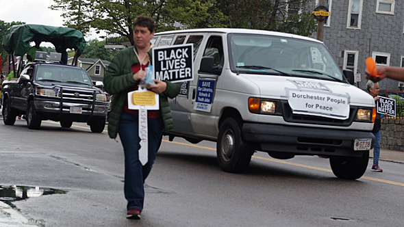 BLM in Dorchester Day parade