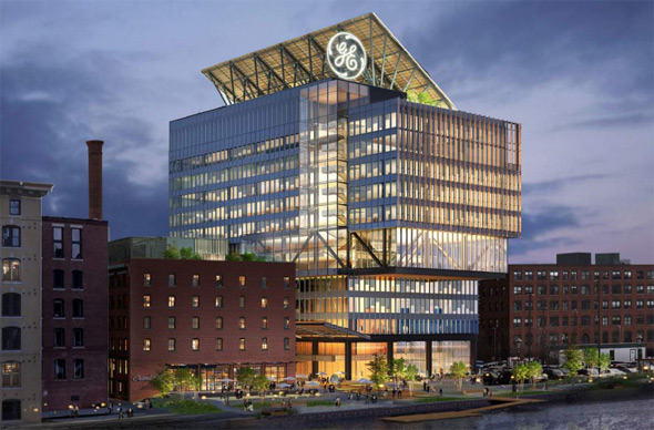 Proposed GE headquarters