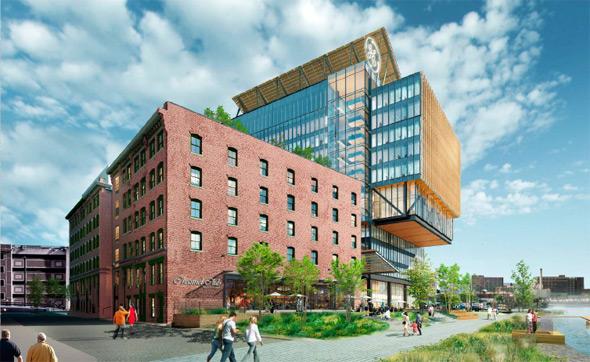 Proposed GE headquarters