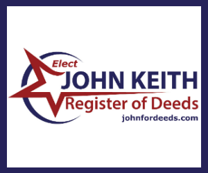Why you should vote for John Keith for Register of Deeds