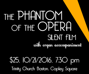 Phantom of the Opera at Trinity Church