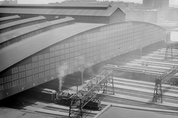 South Station shed