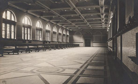 Inside South Station