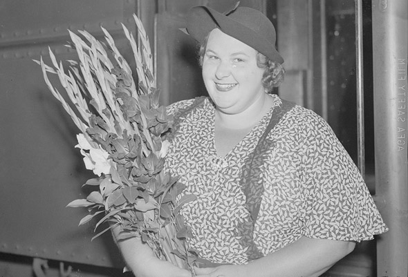 Kate Smith at South Station