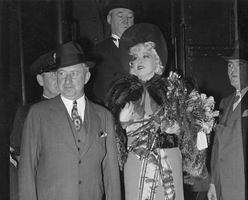 Mae West at South Station