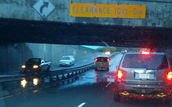 Flooded Storrow Drive