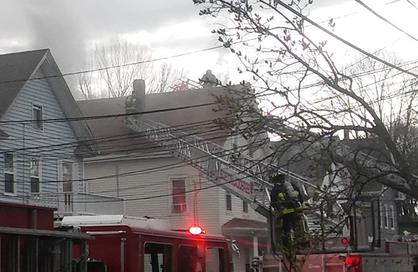 18 Lincoln St. fire