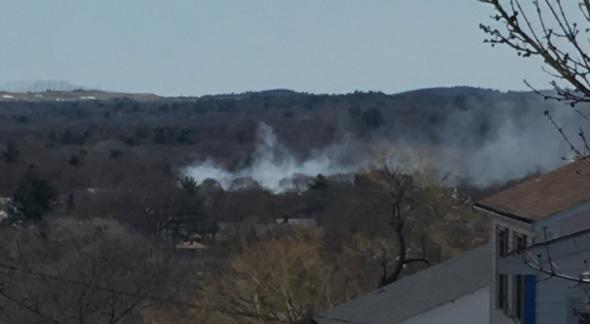 Lexington Avenue fire in Hyde Park