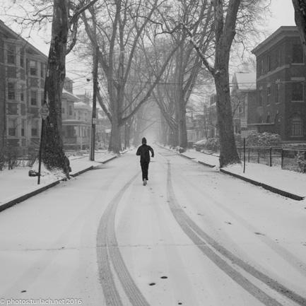 Brookline jogger