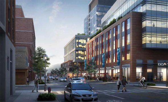 Exchange South End rendering