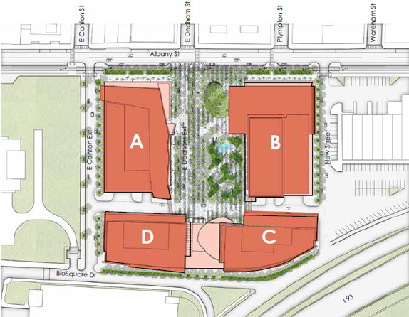 Exchange South End rendering: map