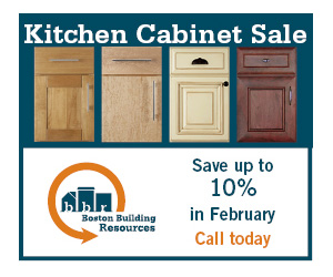 Sale on kitchen cabinets: 10% off in February