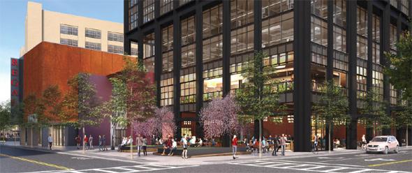 Landmark Center proposal