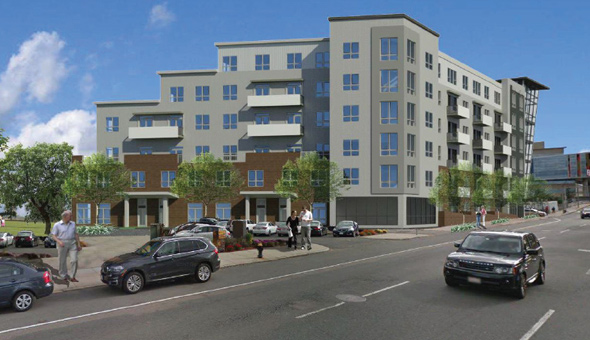 Proposed condos on Lincoln Street
