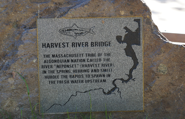Neponset means Harvest in the original Indian language of the area