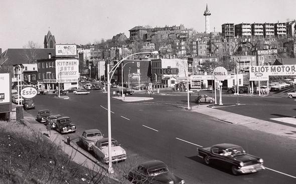 Jackson Square in 1960