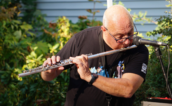 Guy on flute