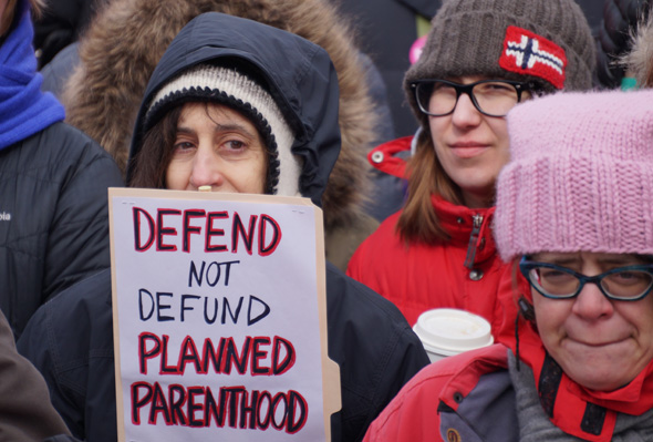 Planned Parenthood supporter