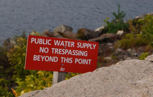 Quabbin: No trespassing
