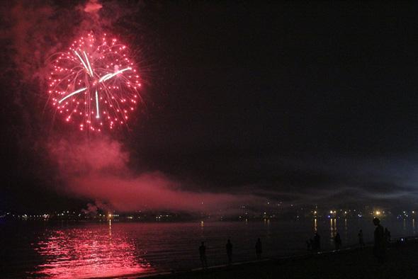 Fireworks in Revere
