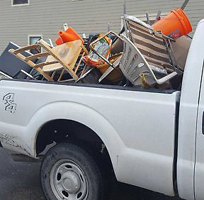 Pickup full of space savers
