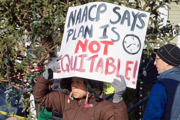 NAACP says plan not equitable