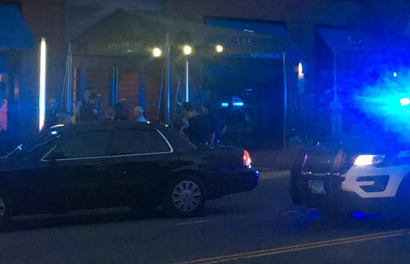 Arrest on Tremont Street