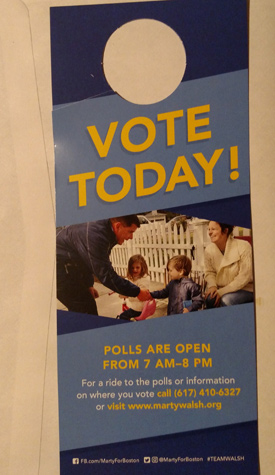 Walsh says vote today