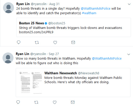 Comments on Waltham