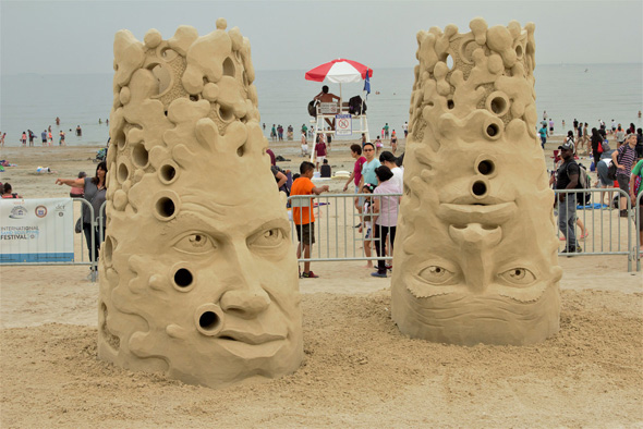 Sand heads in Revere