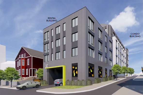 North Beacon proposal