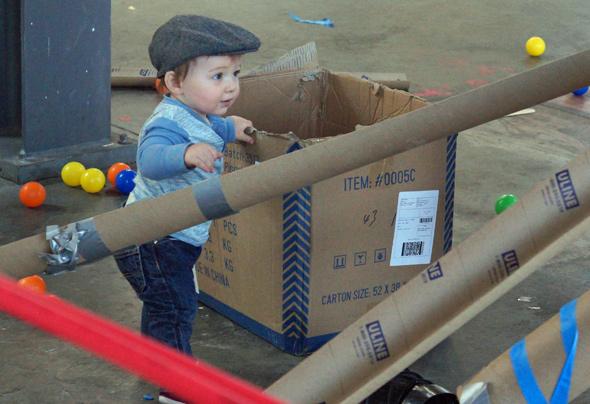 Roslindale Build Zone: Kid in scally cap