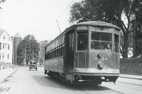 Blue Hill Avenue trolley
