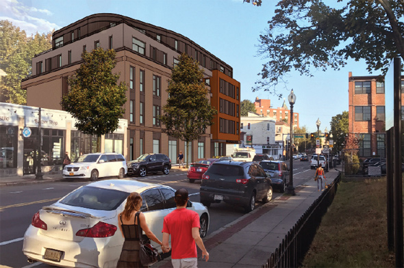 Dorchester Avenue proposal