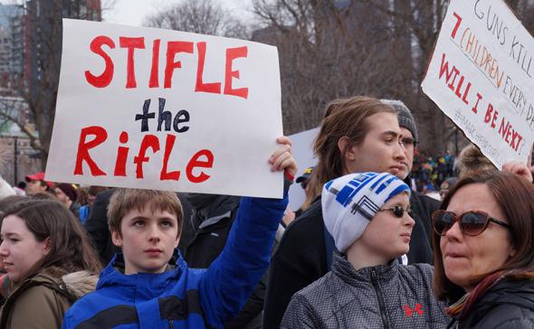 Stifle the rifle