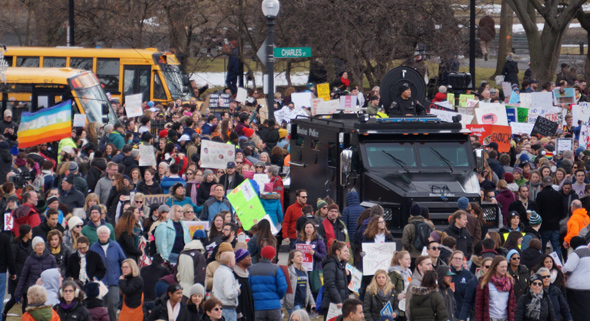 Rally SWAT truck