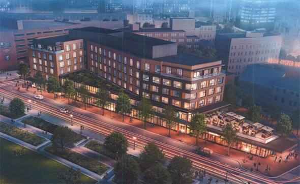 Proposed Haymarket hotel