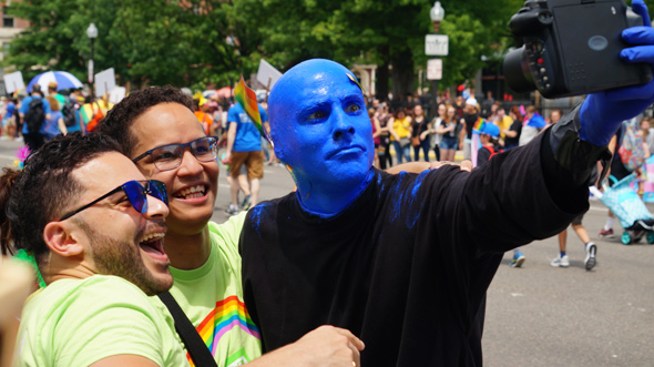 Pride: Blue Man