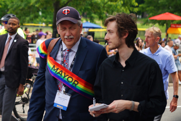 Pride: Mayor of Edina, MN