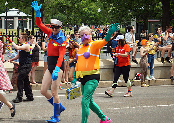 Pride: Mermaid Man and Barnicle Boy