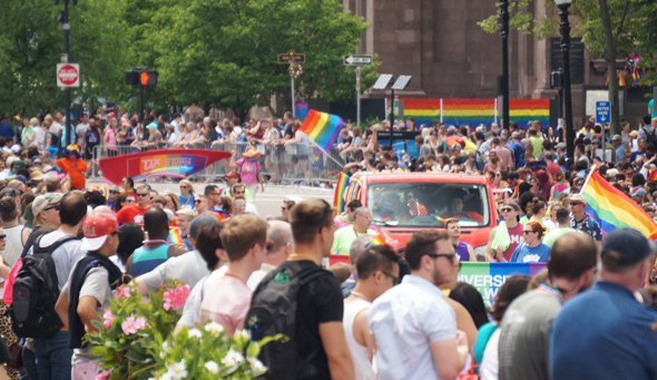 Pride: Lots of people