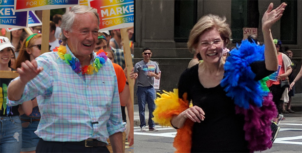 Pride: Markey and Warren
