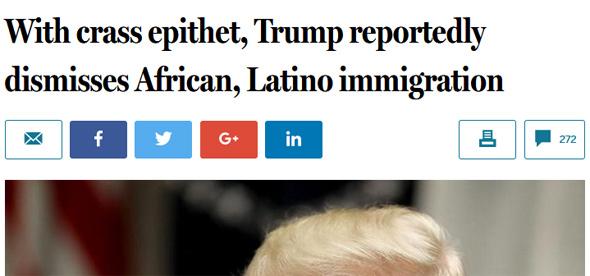 Globe headline