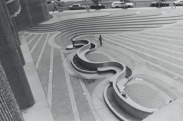 Steps at the Lindemann Center