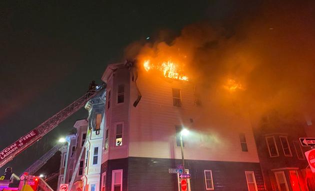 Columbia Road fire
