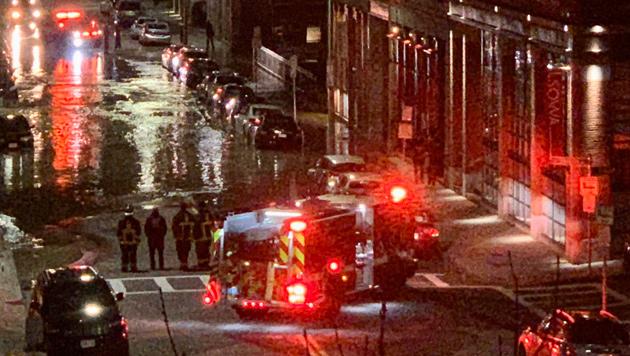 Harrison Avenue flood