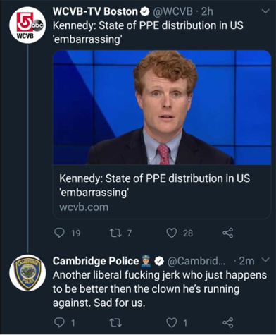 Graphic attack on Joe Kennedy