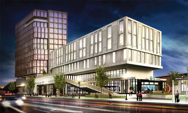Proposed NuGateway building