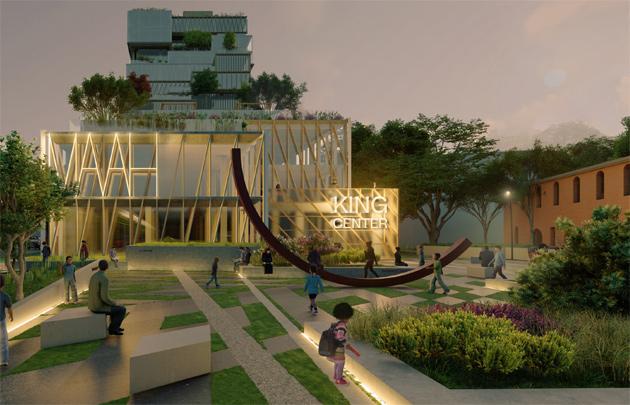 Proposed plaza