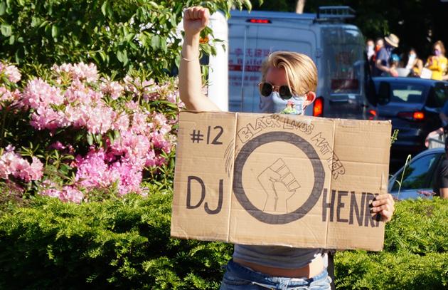 Sign: Remember DJ Henry